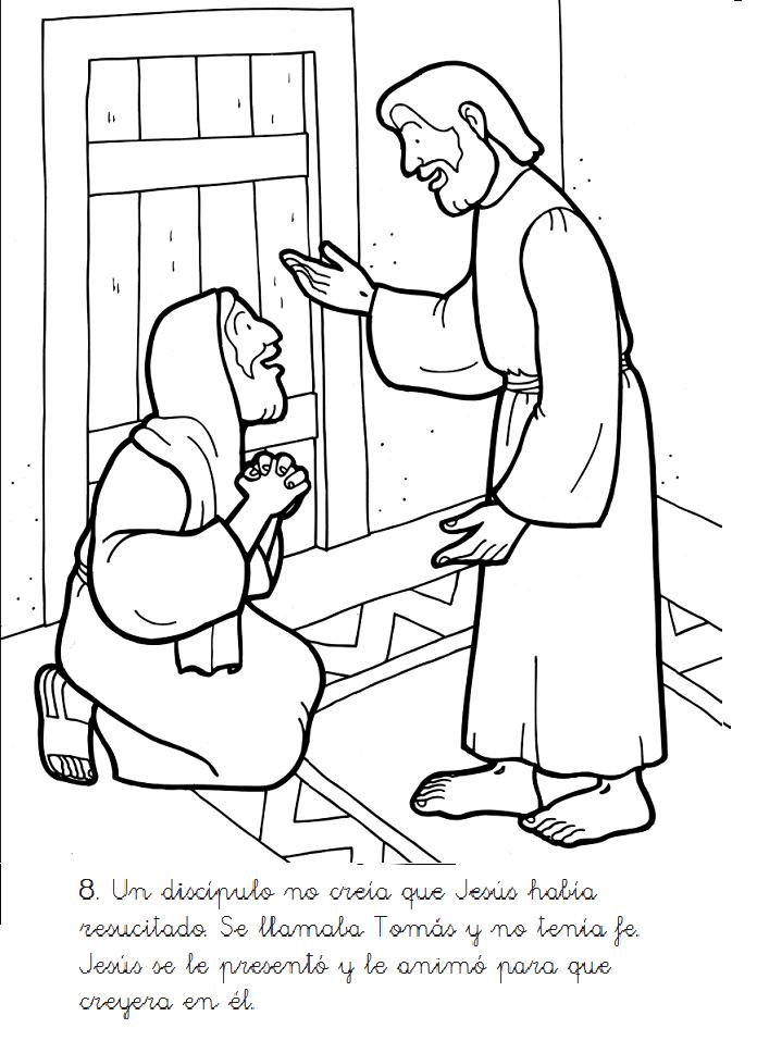 Historias Biblicas para Colorear: Muerte y Resurrección de Jesús ...