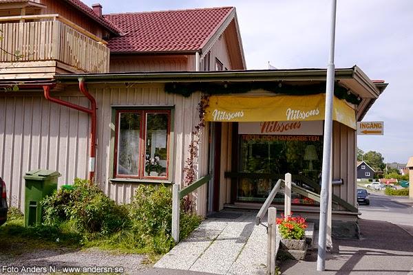 nilssons textil och handarbetesaffär, affär, grästorp