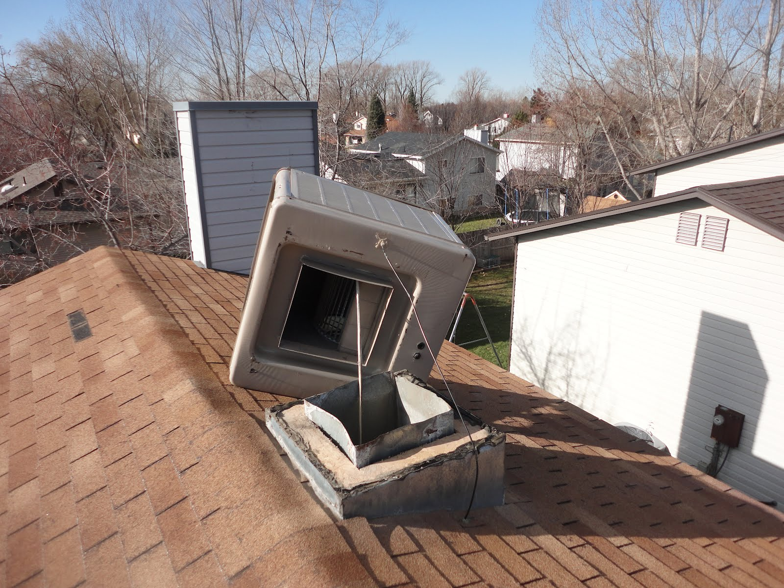 Evaporative Cooling Roof : Great scott redecorating the roof edition
