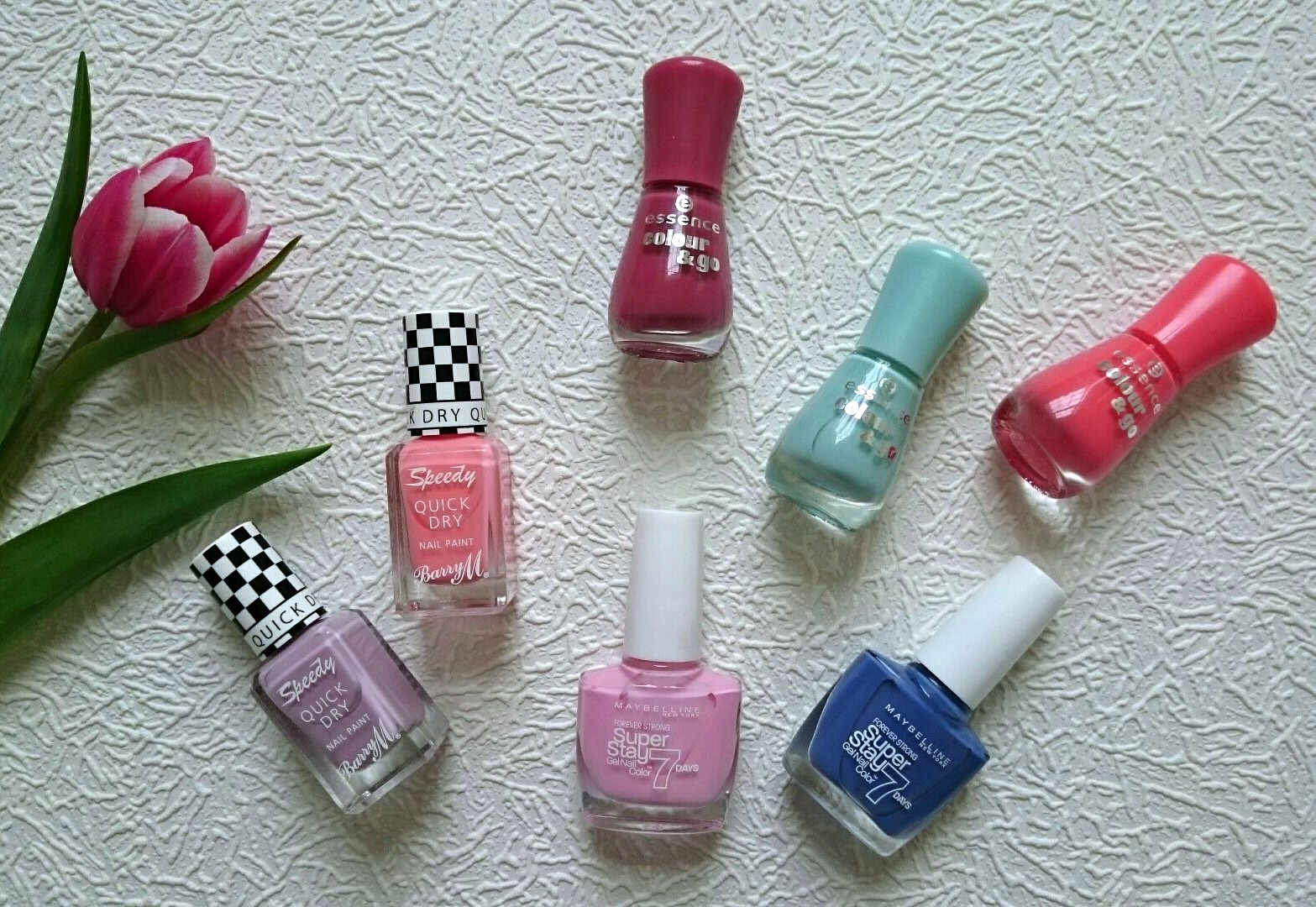 Nail polishes for Spring