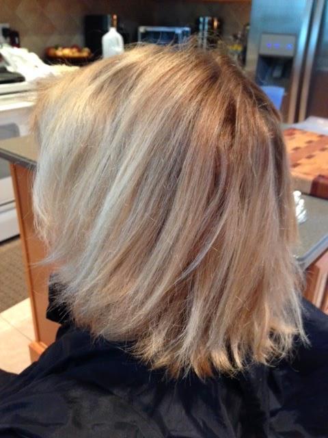 Blonde Hair Before Highlights