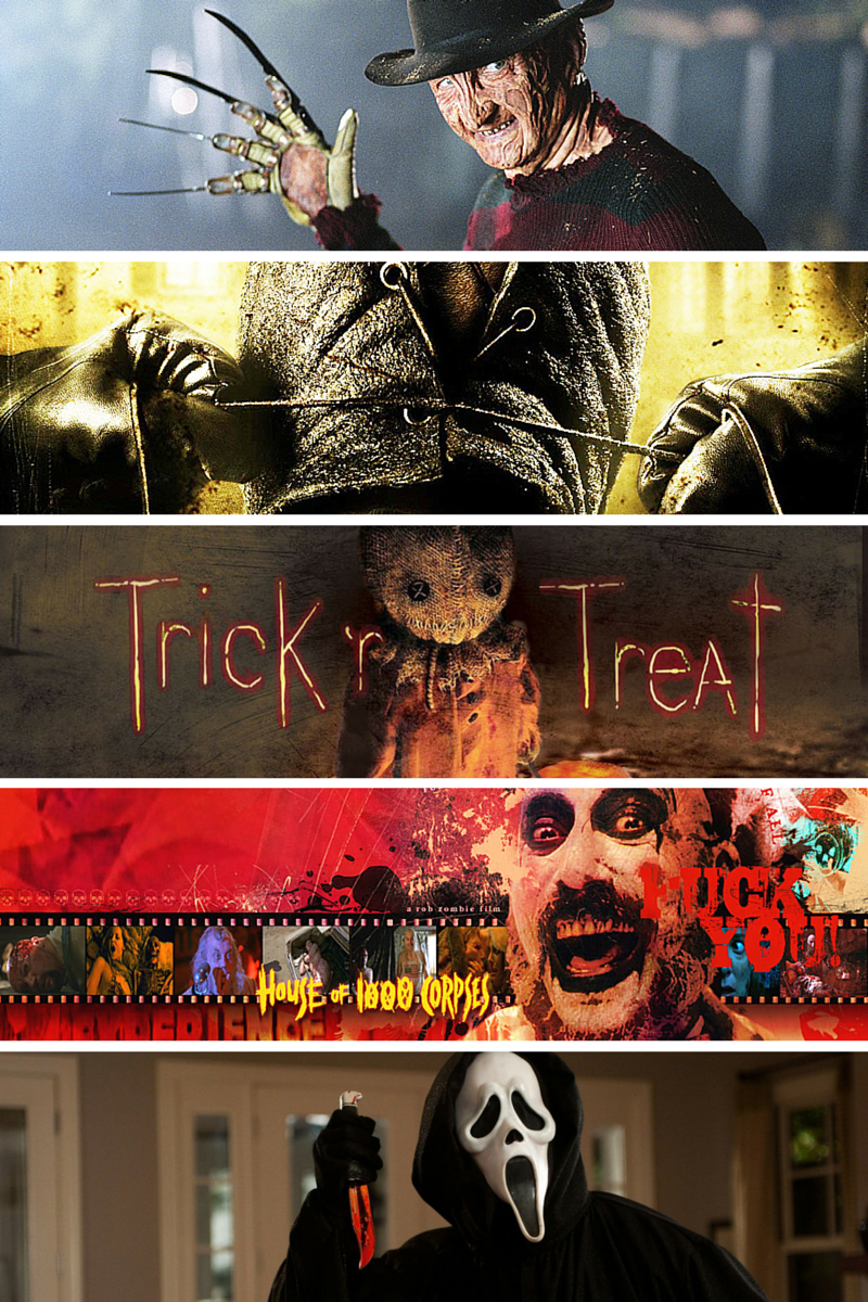 Top 5 #Horror Movies