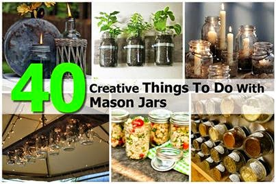 Fun recipe world 40 creative things to do with mason jars for Cool things to do with mason jars