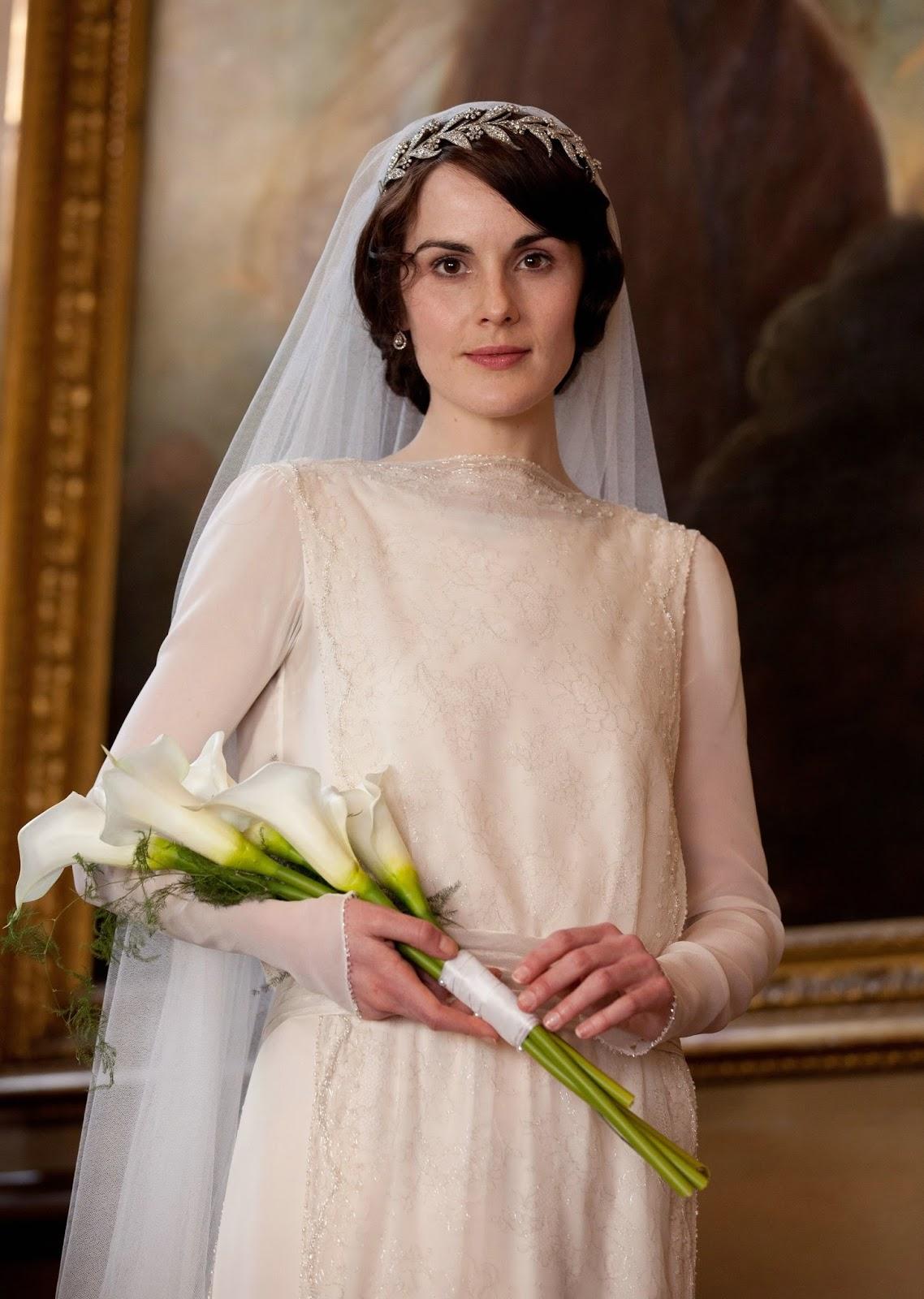 DressyBridal Marrys Long Sleeved Wedding Dress Downton Abbeys Fashion Chapter 1