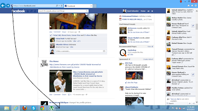Facebook Notifications On Windows Taskbar