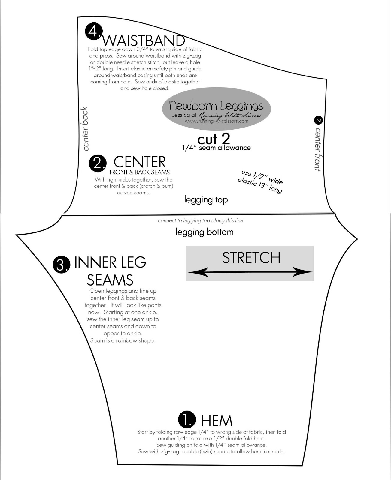 pdf cotton short pattern biys