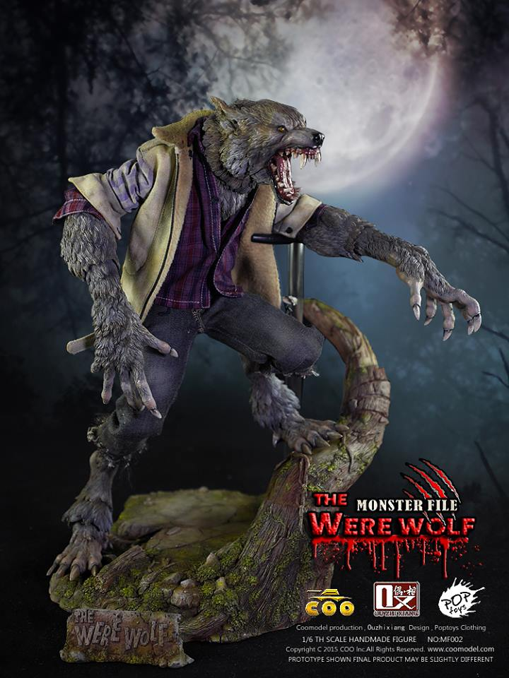COOMODEL X OUZHIXIANG - Monster File Series - The Were Wolf E20
