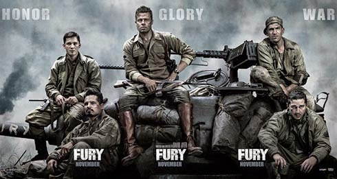 wallpaper poster cerita film Fury - Penggemar Film Perang Wajib Download Film Enemy at The Gates