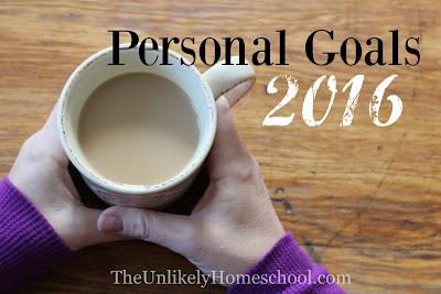 Personal Goals 2016