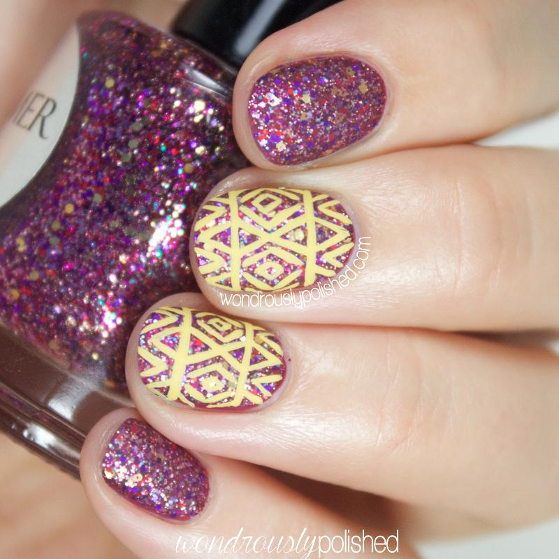 Wondrously Polished: Shimmer Polish - Melissa: Swatches & Nail Art