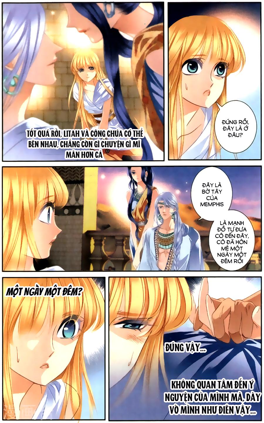 Sủng Phi Của Pharaoh chap 61 - Trang 12