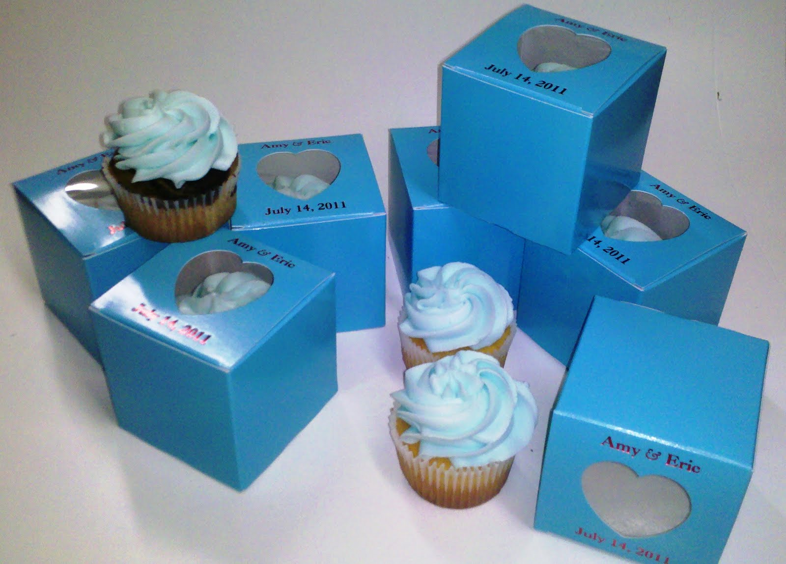 Cupcake Favors Boxed Leslies Cake Blog From Stans Northfield Bakery