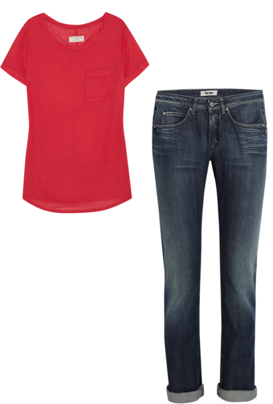VipandSmart jeans basico con camiseta