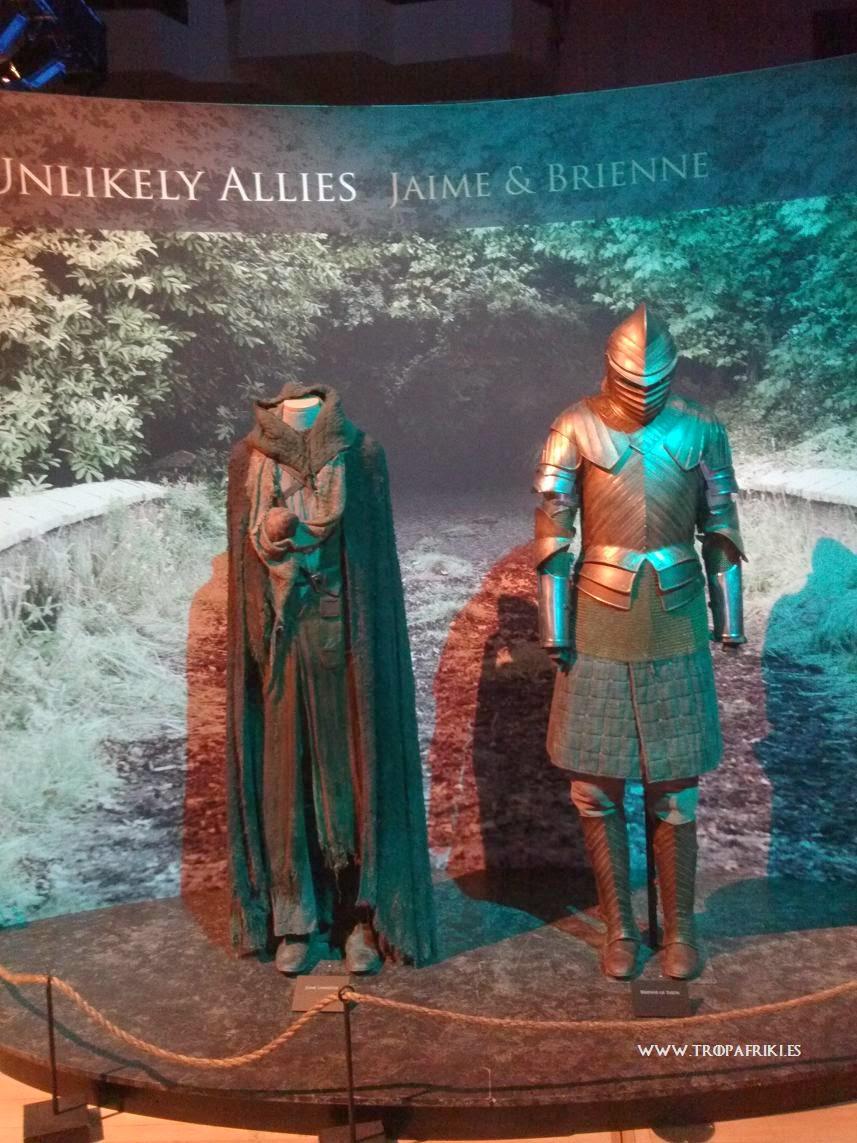 Juego de tronos Jaime y Brienne