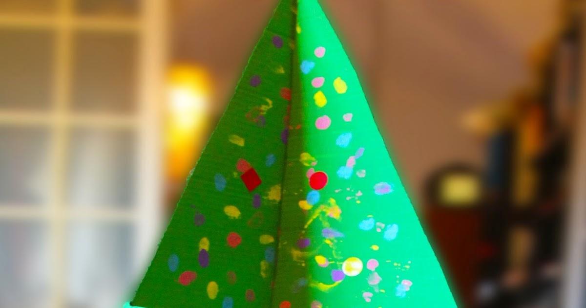 Descubriendo pequemundos rbol de navidad 3d con - Arboles de navidad de diferentes materiales ...