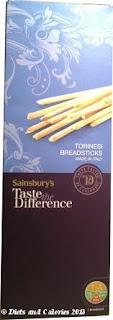 Sainsbury Torinesi breadsticks