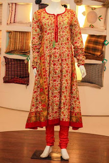 Thredz Kurta girls collection 2013