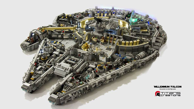 http://kotaku.com/it-took-10-000-lego-bricks-to-build-the-millennium-falc-1703555674