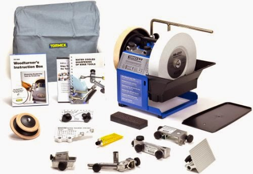 Tormek TBW702 T-7 Wood Turner Kit Review