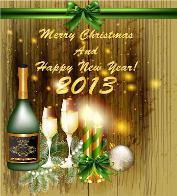Tarjetas de felicitaciones Año Nuevo 2013