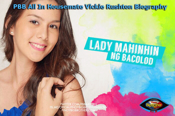 PBB All In Housemate Vickie Rushton Biography