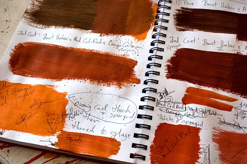 Details In The Decor Pages From My Sketch Book