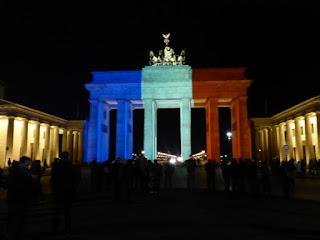 Brandenburger Tor als Tricolore
