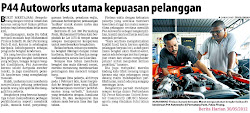 P44 Autoworks In Berita Harian