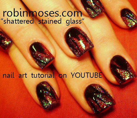 Robin moses nail art petrilude nail art simple pigments and hello here i have done many different tutorials using eyeshadows for nail art for more eyeshadow nail art tutorials please subscribe to my channel on prinsesfo Image collections