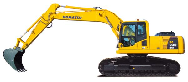 Komatsu Excavators PC230NHD-8