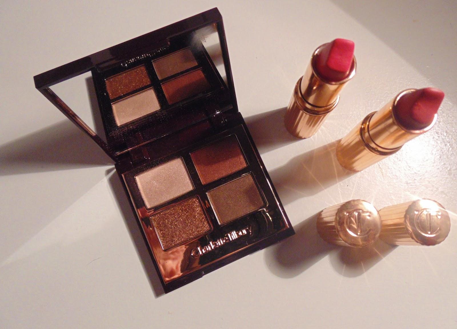 Charlotte Tilbury Makeup dolce vita palette matte revolution amazing grace lost cherry