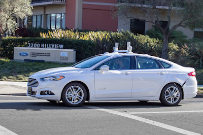 Ford Plans On Testing Autonomous Vehicles in California