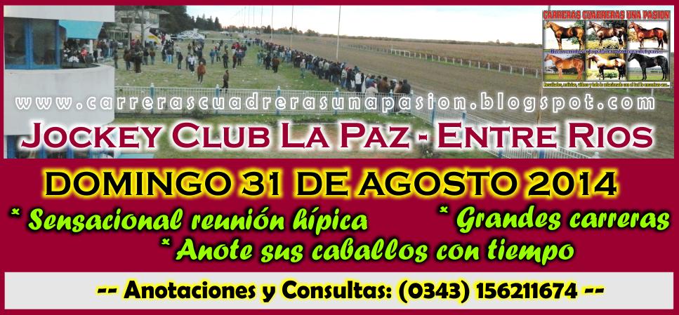 LA PAZ - REUNION 31.08.2014