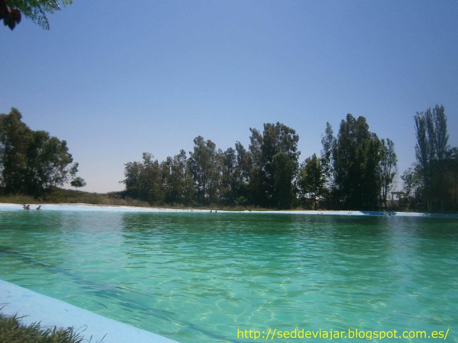 Sed de viajar piscinas naturales de extremadura i for Piscinas naturales castilla y leon