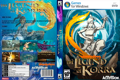 Jogo The Legend Of Korra PC DVD Capa