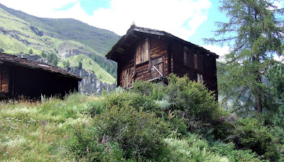 Haybarns above zermatt