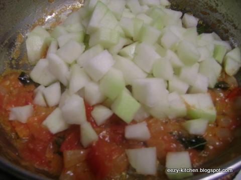 Kavi's Kitchen: Nool Kol Masala (Turnip/Kohlrabi Masala)