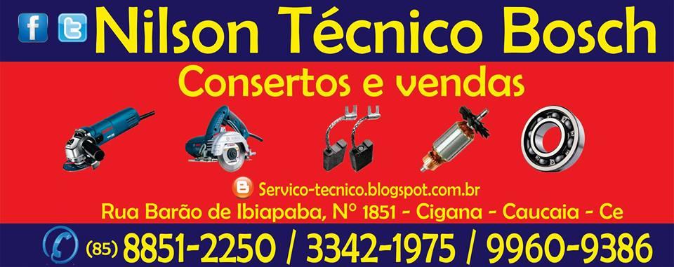 Nilson Técnico Bosch.