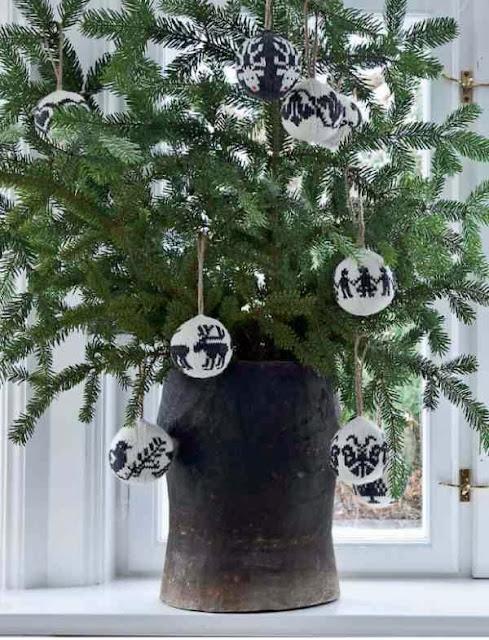 Oryginalna dekoracja świąteczna