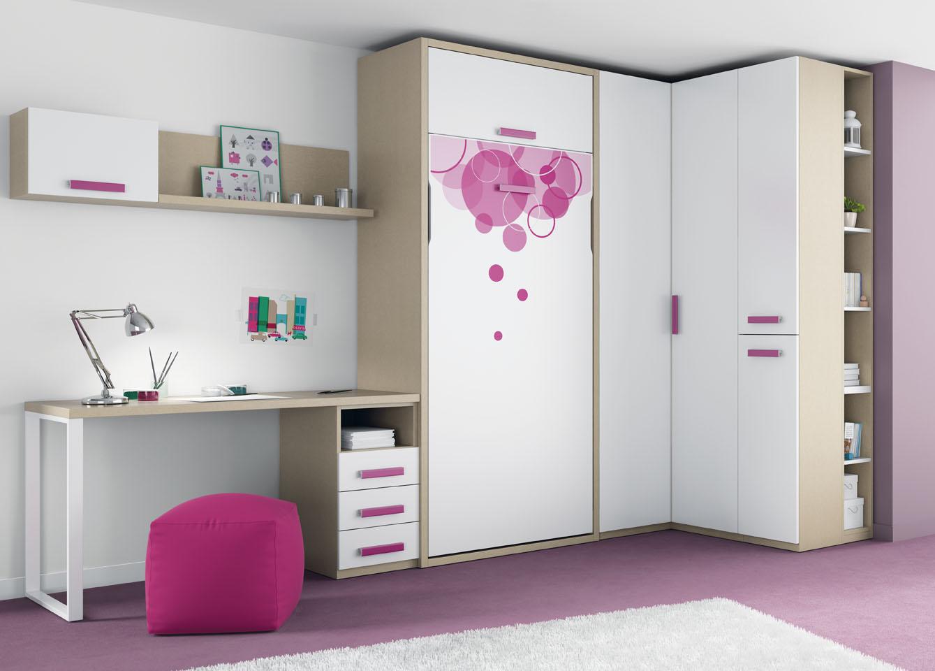 Muebles ros l nea de camas abatibles de ros imbatibles - Camas juveniles precios ...