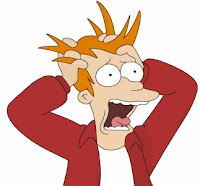 Fry Futurama screaming