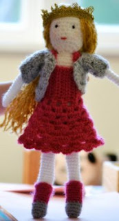 Crochet Pattern Human Doll : 2000 Free Amigurumi Patterns: Princess Poppy: Free Doll ...