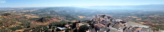 Vista panorámica de Chiclana de Segura