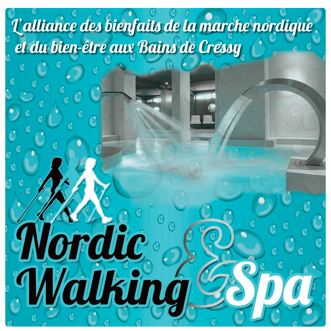 Nordic walking spa nordic 39 nature - Marche nordique salon ...