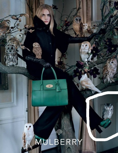 Cara Delevingne by Tim Walker for Mulberry