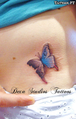 How to Tattoo Borboleta Delicada