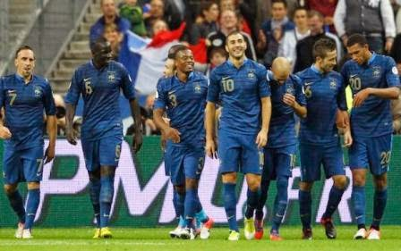 Prancis vs Norwegia