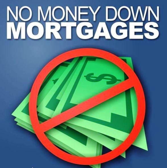 Bad Credit No Money Down Mortgage