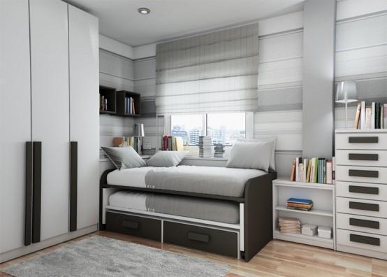 Decora y disena 28 recamaras juveniles para hombres - Dormitorios juveniles para hombres ...