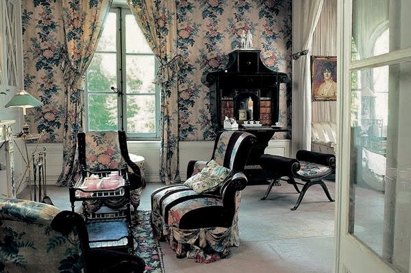 Interiors Madeleine Castaing french designer